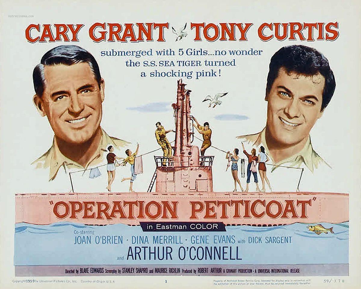 Critique «Opération Jupons» (1959) : À la guerre comme à la guerre !